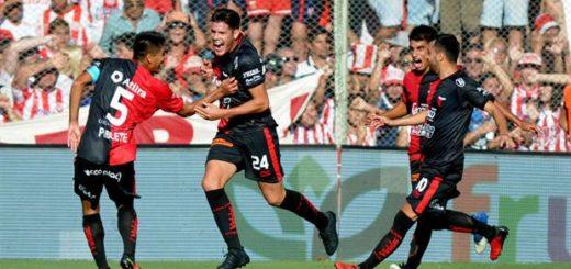 Colón le ganó a Unión 2 a 0 en un clásico caliente con cuatro expulsados