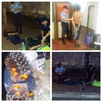Detuvieron a tres conocidos ladrones en distintos procedimientos