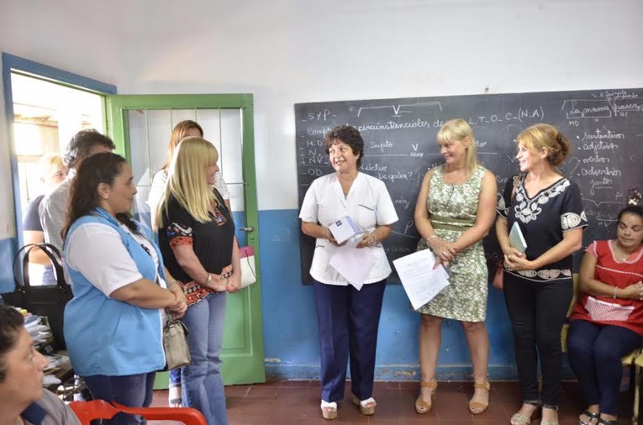 La UDPM acompañó la vuelta de los docentes a las escuelas