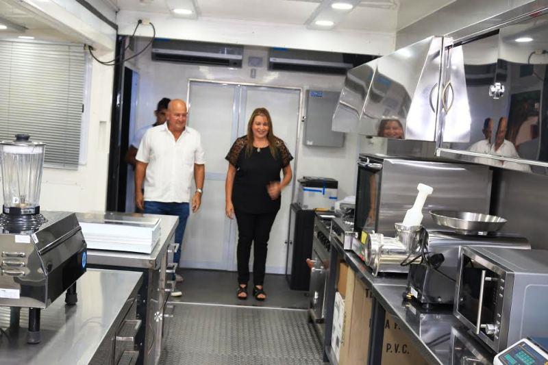Aulas talleres móviles en Iguazú: ya se capacita en gastronomía y refrigeración