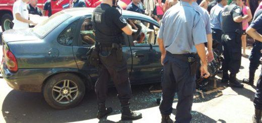 Liberaron al conductor que estando ebrio había atropellado un negocio y herido de gravedad a un joven