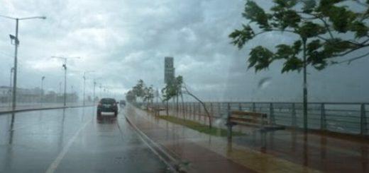 Inestabilidad climática: en las últimas 8 horas cayó entre 80 y 95 milímetros de agua en la zona centro