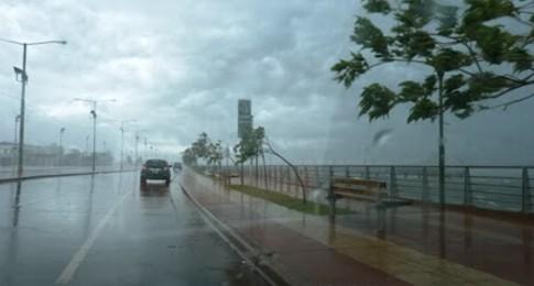 Martes lluvioso en toda la provincia