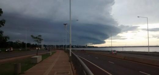 Emitieron un aviso por tormentas fuertes, con descargas eléctricas y granizo para este fin de semana en Misiones