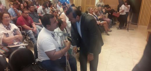 Presentaron el Programa de Ayudas Técnicas para personas con discapacidad con la intervención de la CONADIS