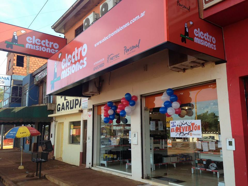 La firma Electro Misiones inauguró una sucursal en Garupá