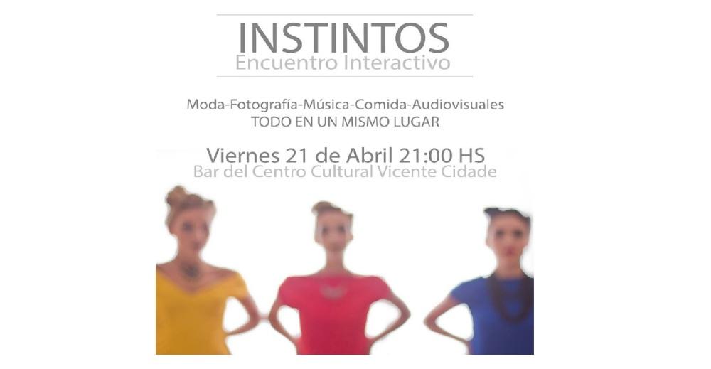 Este viernes «Instintos» en el Cidade: Un espacio de intercambio artístico
