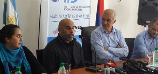 """Con la presencia del """"Chicho"""" Serna, el IPS lanzó el programa """"Campeones del Futuro"""""""