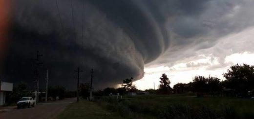 Anticipan fuertes tormentas, granizo e intensas lluvias para mañana en la zona sur y centro de Misiones
