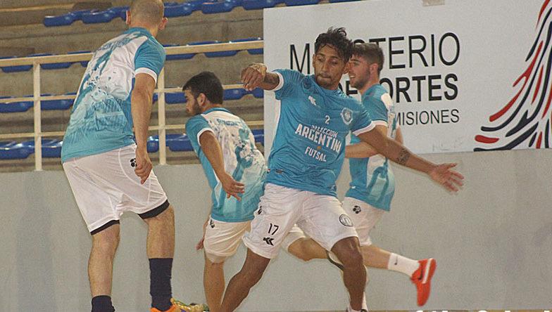 La Selección Argentina de futsal ya está en Posadas para iniciar el Desafío Mundialista