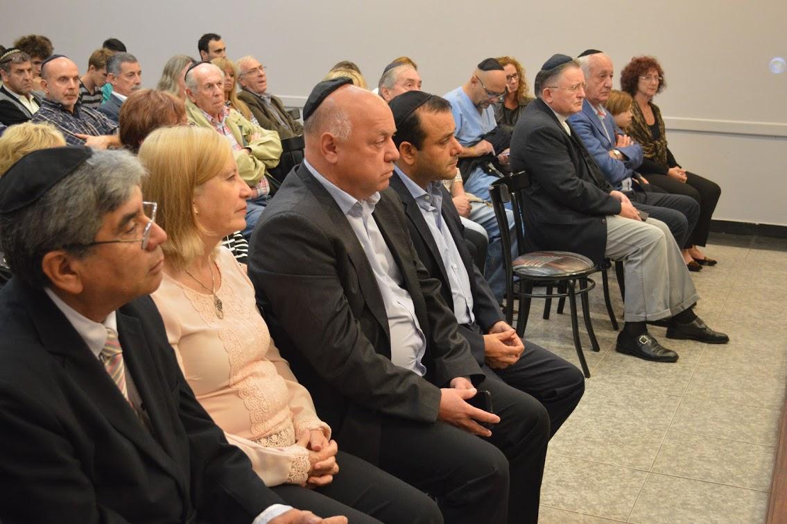 La Comunidad Israelita de Misiones realizó un acto conmemorativo en homenaje a las víctimas del genocidio nazi
