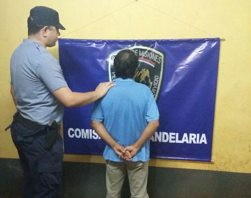 Detuvieron a un hombre en Candelaria por haber golpeado a su hijo de 5 años