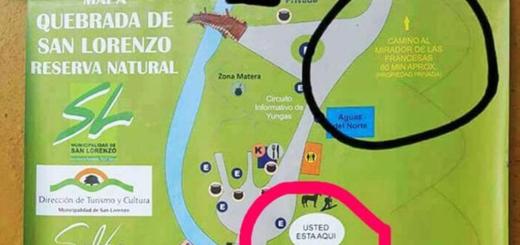Polémica en Salta por un cartel que promociona un paseo con el crimen de las turistas francesas
