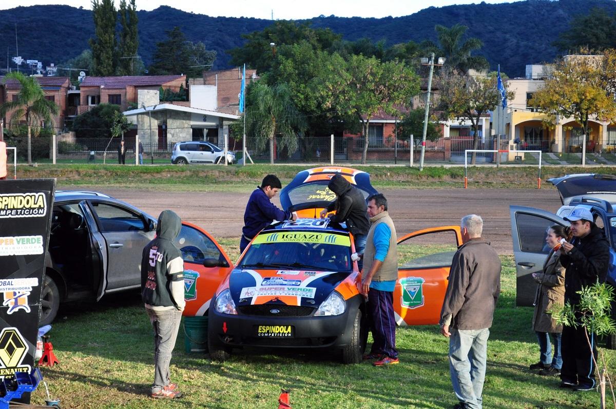 Rally de Argentina: la dupla Zarza-Espínola corre hoy la segunda fecha