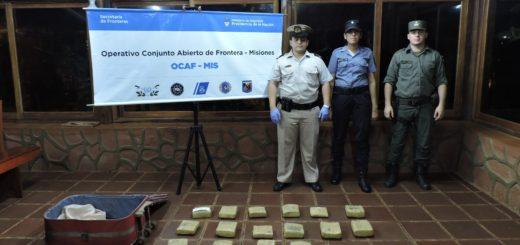 Secuestraron 18 kilos de marihuana en Puerto Rico