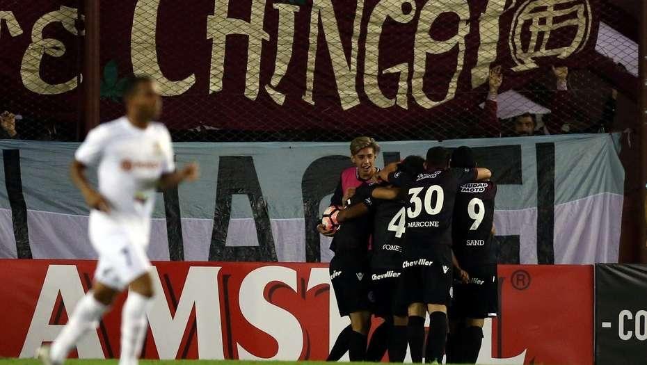 Lanús goleó 5 a 0 al Zulia por la Libertadores y lidera su grupo en soledad