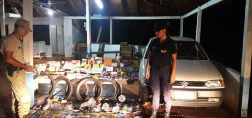 Secuestraron de un cargamento de autopartes valuados en más de 120 mil pesos en Puerto Libertad