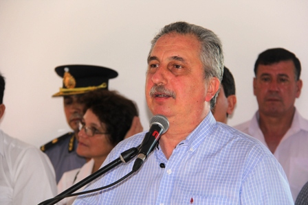 Passalacqua inauguró obras en Libertad, Eldorado y Santa Ana