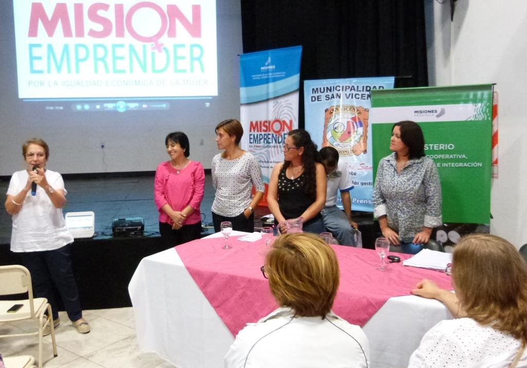 El Programa Misión Emprender llegó a más de mil emprendedoras de toda la provincia en la primera salida