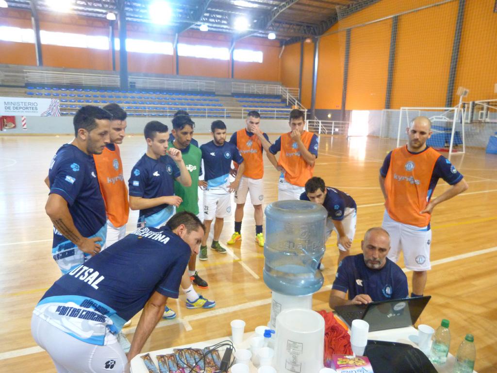 Desafío Mundialista: Así fue el primer entrenamiento de la Selección Argentina de futsal con el plantel completo