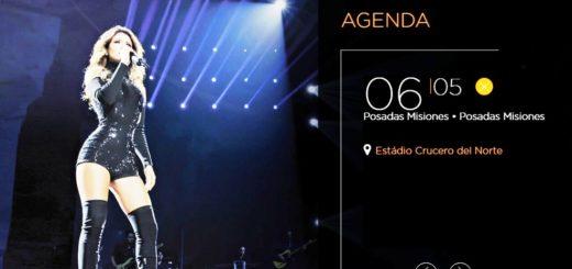 Paula Fernándes cada vez más cerca: Misiones Online mañana sorteará entradas