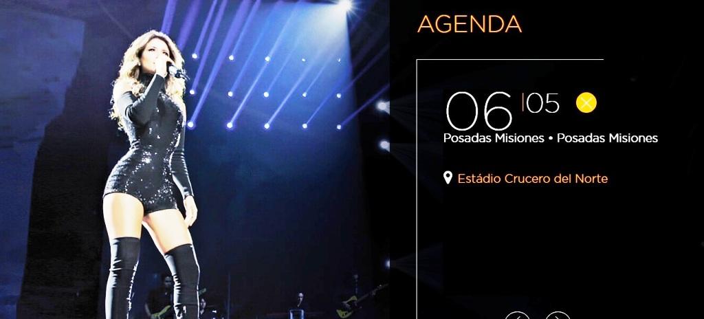 Paula Fernándes cada vez más cerca: Misiones Online sorteará entradas