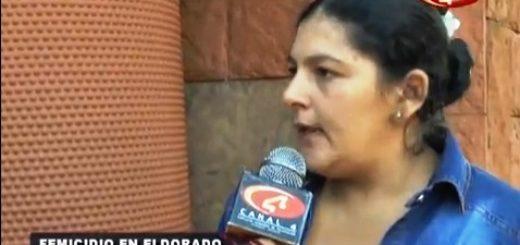 Femicidio en Eldorado: los testimonios del dolor de la madre y la hermana de la víctima