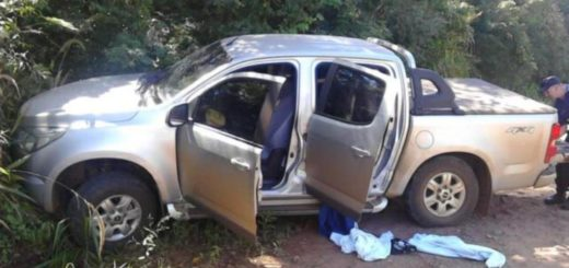 Tras una persecución, que incluyó hasta un disparo, recuperan en Irigoyen una camioneta robada en Brasil