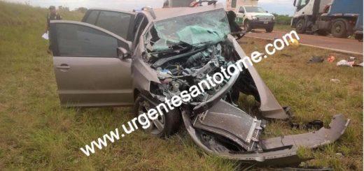Santo Tomé: Cuatro muertos en un violento triple choque donde hay por lo menos un vehículo que venía a Misiones