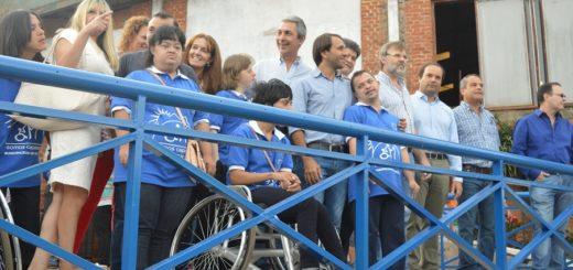 Se inauguraron obras de accesibilidad en el Polideportivo Ian Barney de Oberá