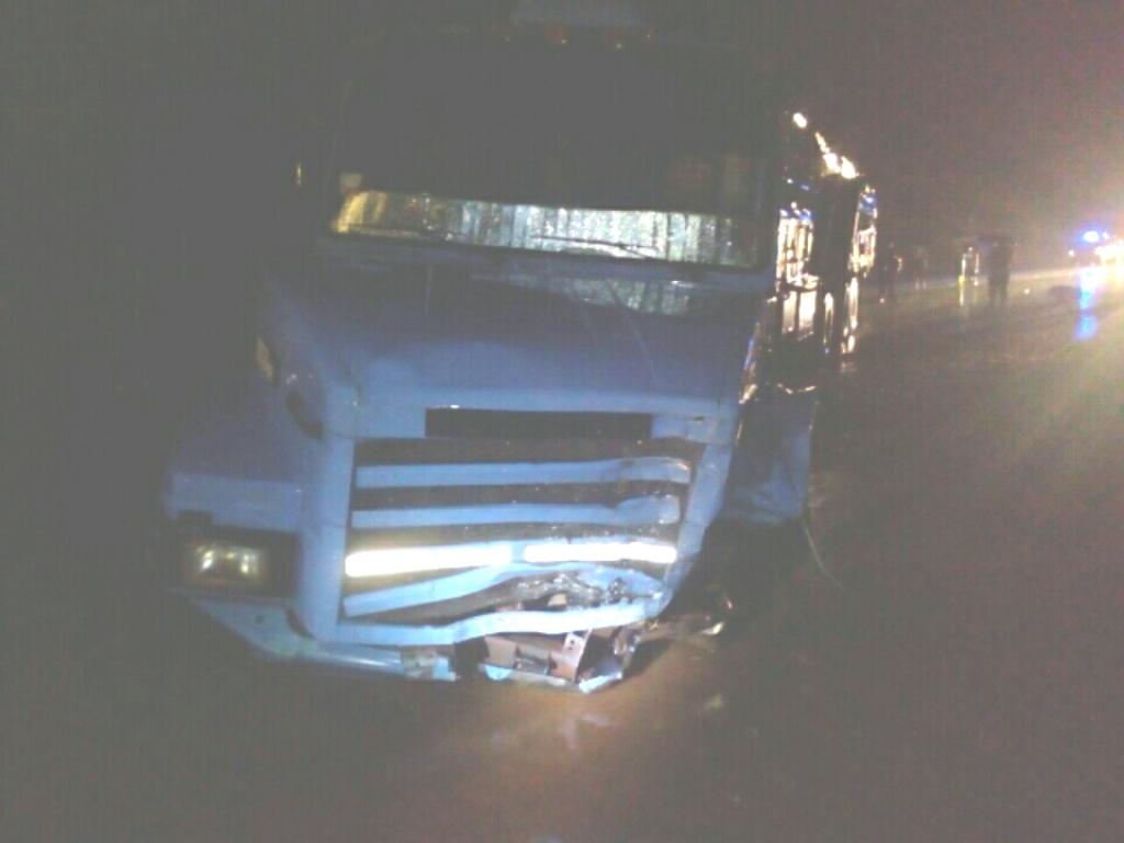 Oberá: chocaron un camión y un coche en la ruta 14 y falleció un hombre de 39 años