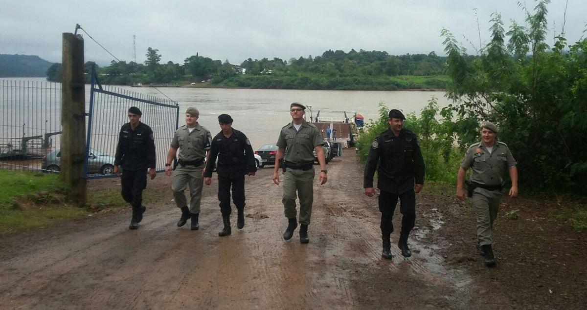 La lucha contra los delitos fronterizos une a las policías de Misiones y Río Grande do Sul en un intenso operativo