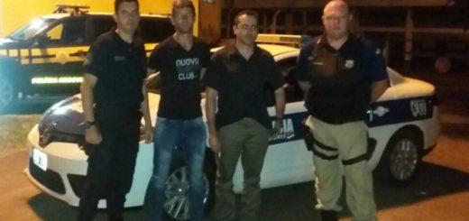 Doble homicidio en Ameghino: atraparon en Brasil al policía acusado y ya está a disposición de la Justicia