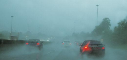 Consejos para conducir con lluvia intensa