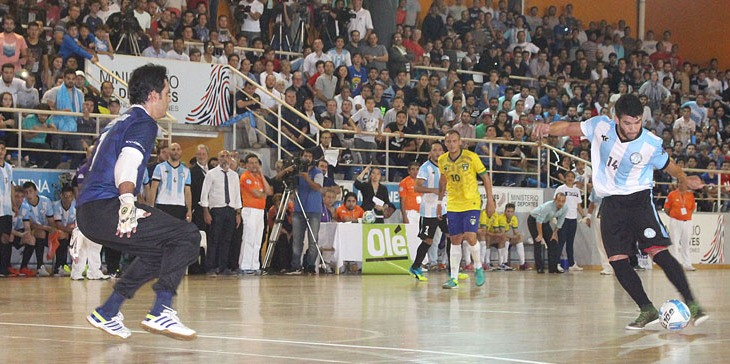 Desafío Mundialista: Vea los goles del triunfo de Argentina ante Brasil, en el primer partido jugado en Posadas