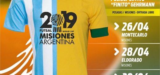 En vivo: Argentina  y Brasil se enfrentan en un amistoso de futsal