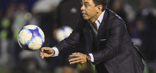 Gallardo habló de la victoria de River y del Superclásico