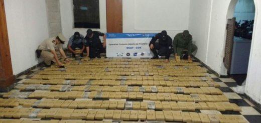Siguen decomisando marihuana en Itatí: ahora fueron 514 kilos