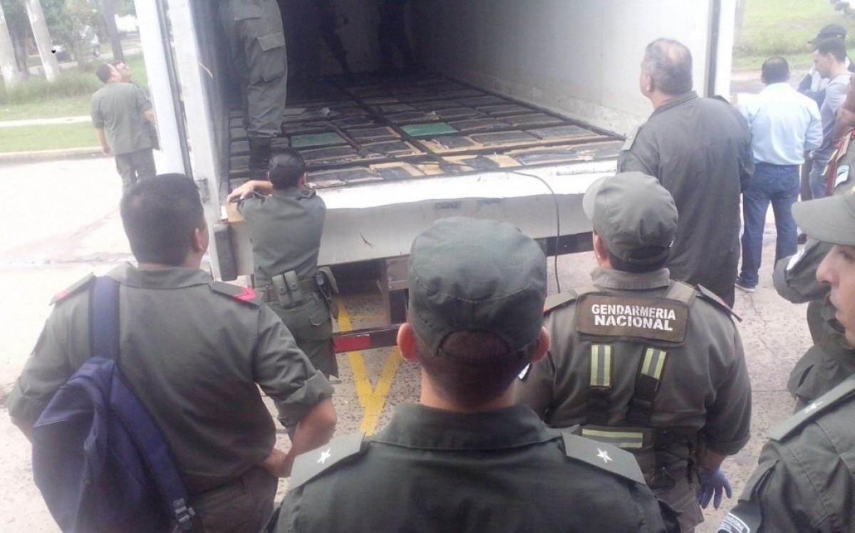 Corrientes: detectan más de tres toneladas y media de marihuana en un camión que había partido de Misiones