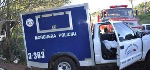 Derrapó la moto en la que iba una familia en Loreto y murió degollada una nena de cuatro años