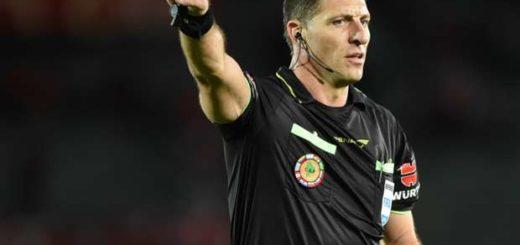 Néstor Pitana estará en la Copa Confederaciones