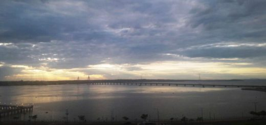 Jueves nublado y cálido en Misiones