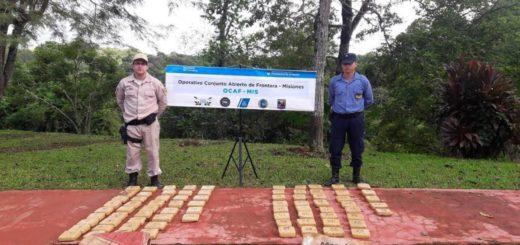 Libertad: incautan más de 46 kilos de marihuana escondidos en bolsas de abono y semillas
