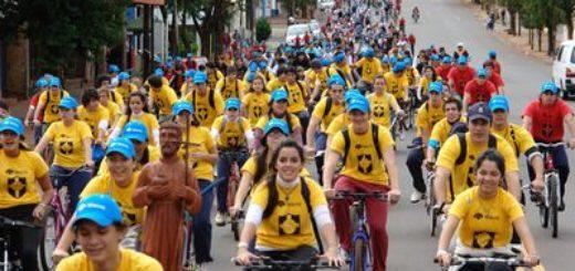 Hoy  se realiza 18va edición de la Bicicleteada Solidaria del Colegio Roque González