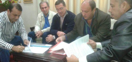 El Sindicato de Trabajadores Viales firmó convenio para la atención integral de la salud