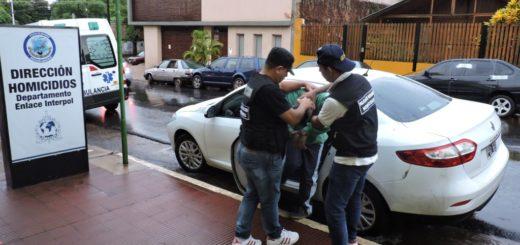 Presunto homicida capturado en Buenos Aires ya fue traído a Posadas