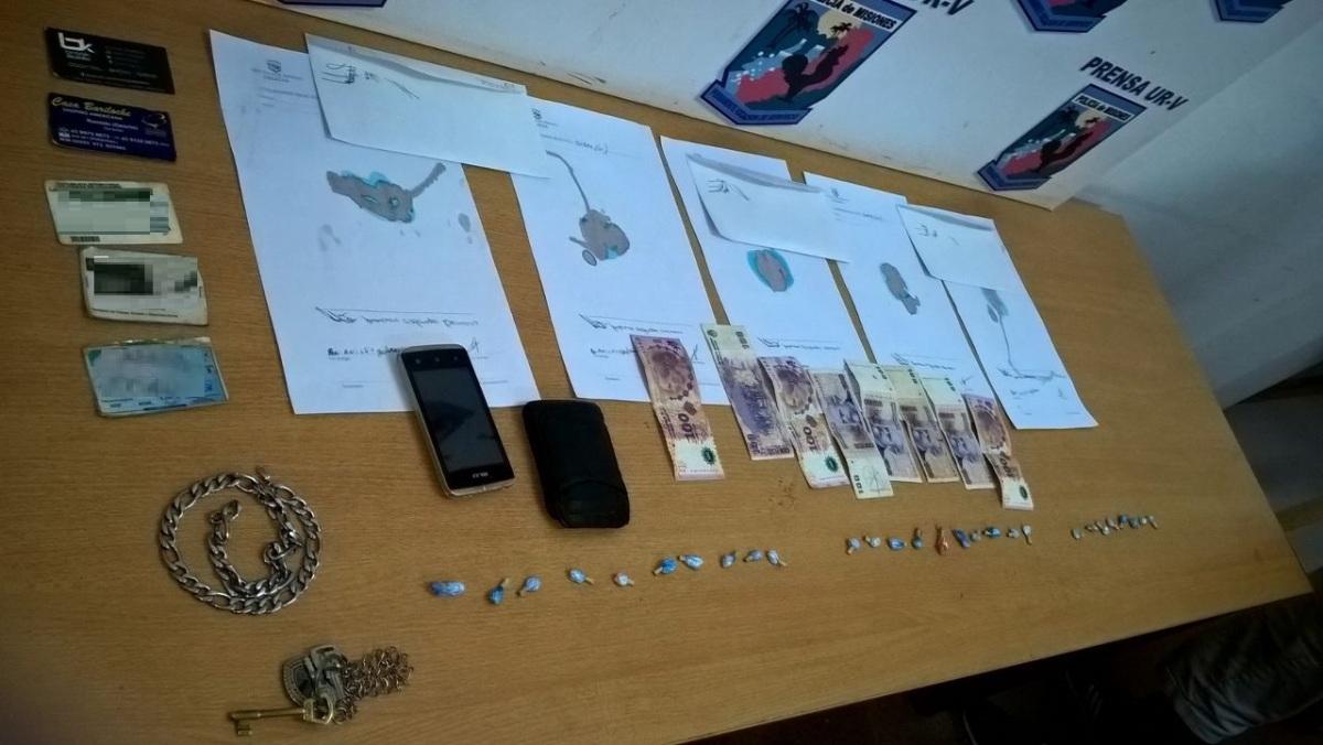 Cayó un «dealer» con 28 envoltorios de cocaína en Puerto Iguazú
