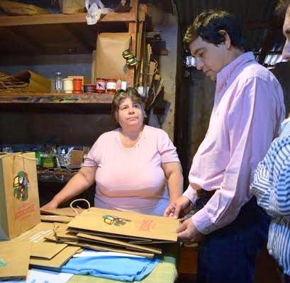 Losada destacó el trabajo de emprendedores locales