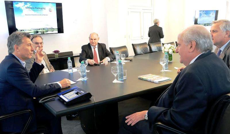 El grupo Arcor informó al presidente Macri sobre la compra de la empresa Zucamor