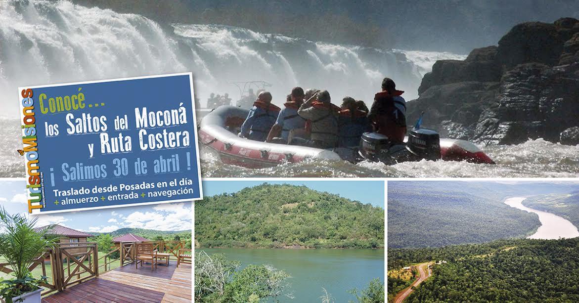 Turismo Misiones ofrece un paquete imperdible para conocer los Saltos del Moconá y la Ruta Costera desde Posadas
